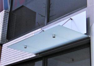 サムネイル: [ガラス庇/タペストリー] W1300×D600